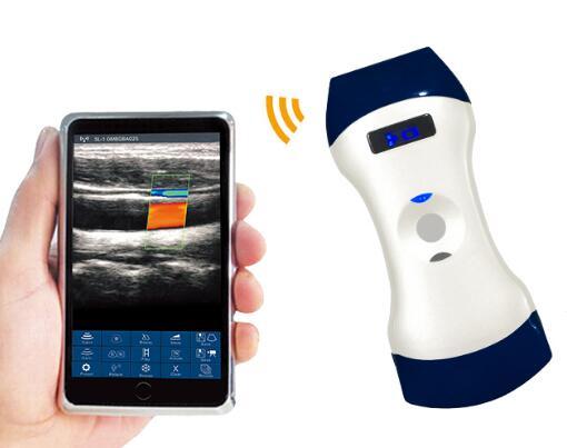 2019 Double Heads Wireless Doppler Ultrasound Scanner for Hospital, Clinic, Veterinary