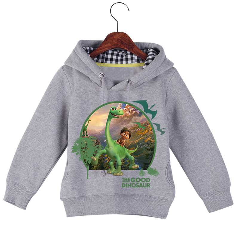 Hot Sale Baby Girl Boy Cartoon Long Sleeve The Good Dinosaur Printing Sweatshirts Baby Kids Autumn Winter Hoodie Tops GCM017 (4)
