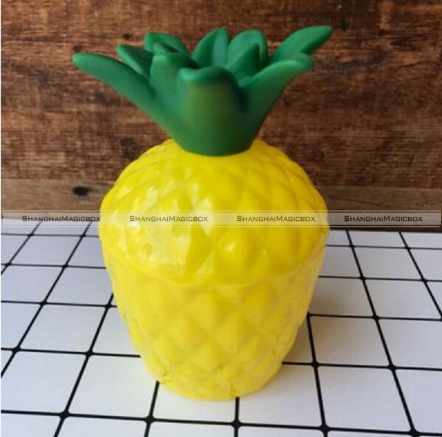 Plastic Pineapple DRINK Cups Luau Beach Tropical Party Tableware without straw 48817631 & Plastic Pineapple DRINK Cups Luau Beach Tropical Party Tableware ...