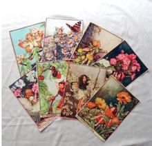 Хлопчатобумажная ткань для шитья ZENGIA, 15 х20 см, 10 шт./лот