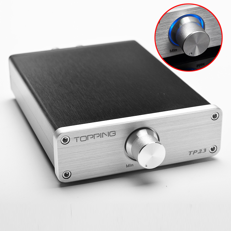 2016 TOPPING TP23 automatic USB power amplifier PCM2704, built-in USB decoder, TA2021B UDA1351TS USB DAC audio amplifier DC14V
