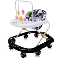 Large Baby Walking Walker 8 Wheels With Music Multi Functional Scooter Children's Toy Car