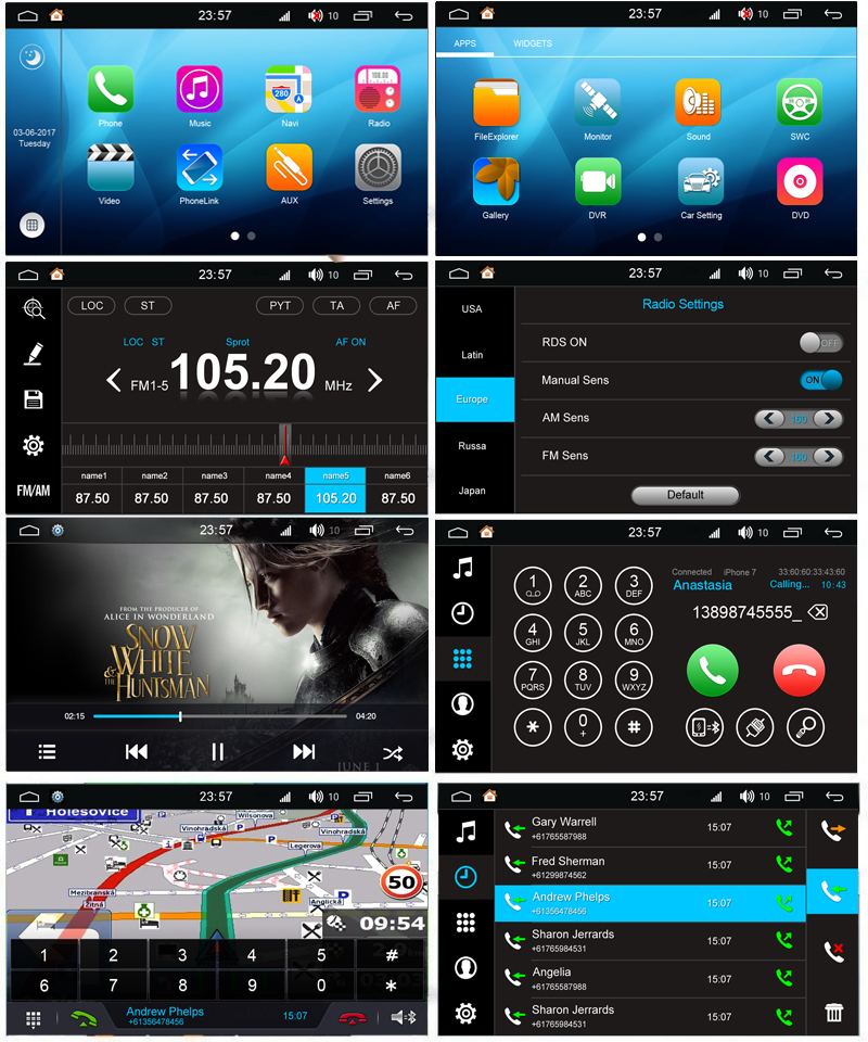 Liislee Car Android Multimedia For Mazda MPV 1996~2006 Radio CD DVD Player  GPS Navi Map Navigation BT Audio Video Stereo System