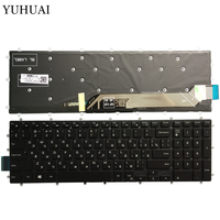 New Russian laptop keyboard for Dell Inspiron 2 in 1 7778 7779 7577 7773 Keyboard Backlit No Frame