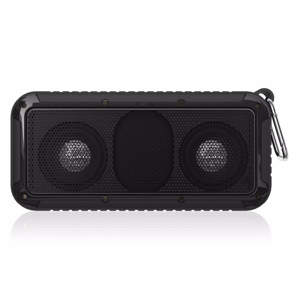 Original New Bee Wireless Bluetooth Portable Speaker IP67 Waterproof Shockproof Dual Bass Stereo Loudspeaker with Mic LED Torch new bee nb s1 led speaker red
