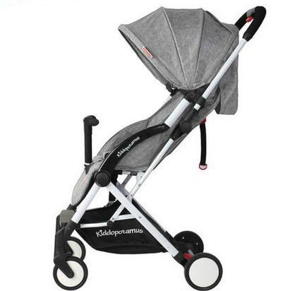 Carrinho de bebê luz ultra pode sentar pode mentir baixo choque carrinho de bebê de carro portátil
