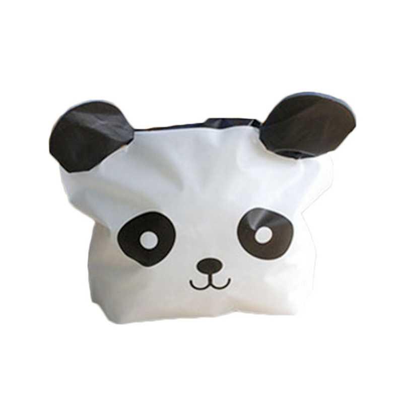 50pcs Cute Panda Cartoon Biscuit Bag Plastic Candy Cookie Food Cake Bags Box Hot