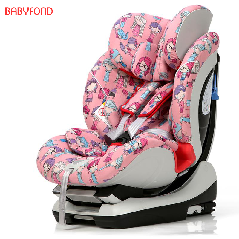 Brand baby car seat  EU belecoo car seat with child safety seat 0-6 year old baby lying isofix interface two face with base gift eu free ship car child safety seat isofix 0 6 years old infant safety car baby newborn two way installation safety seats