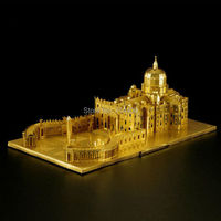 3D Metal Puzzle St Peter S Basilica Model DIY Toy Iron Architectural Building Laser Cut Assemble