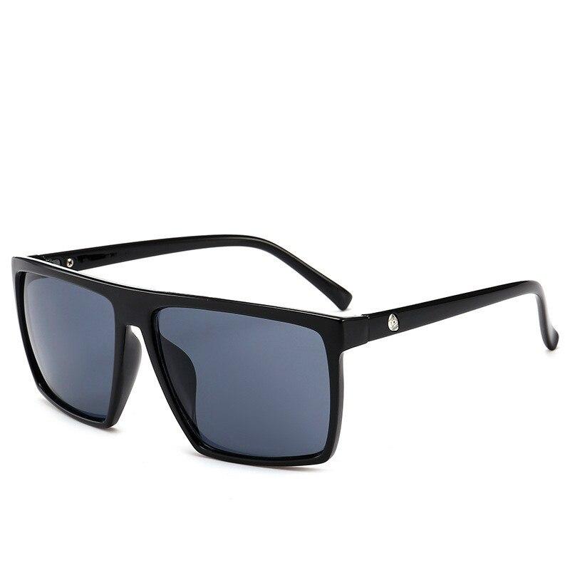 2018 Square Sunglasses Men Brand Designer Mirror Photochromic Oversized Sunglasses Male Sun glasses Man oculos de sol