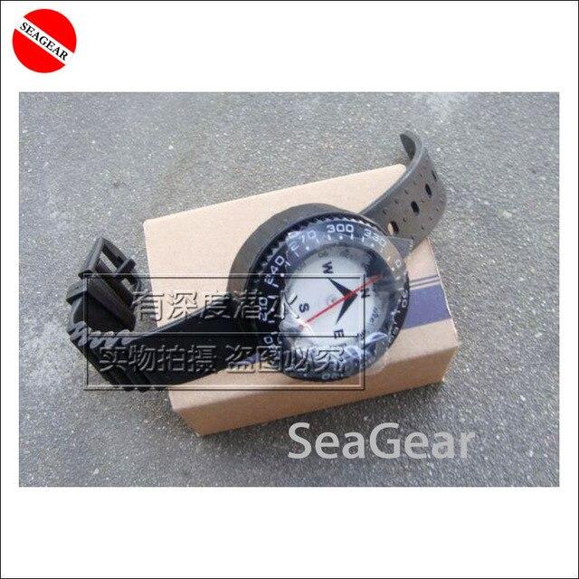 Horloge Om duiken kompas punt om noord horloge kompas onderwater waterdichte in