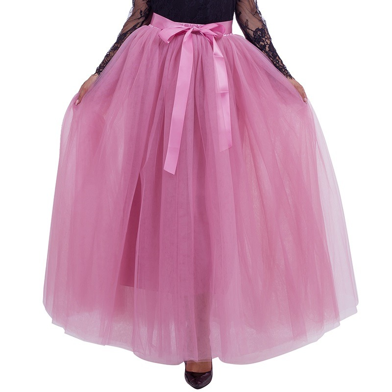 1e62c7109886b Asymmetrical High Low Tiered Puffy Tulle Skirts For Women Special ...