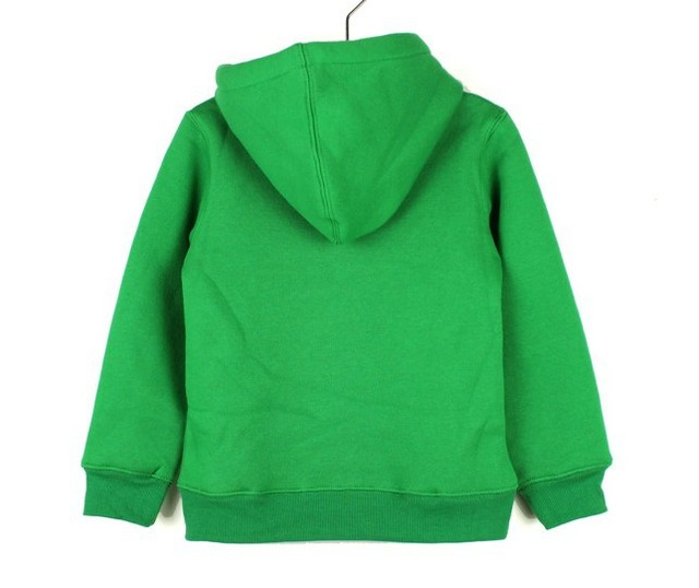 Top Quality 320g camisola de lã casaco com cap, Crianças casaco esporte, 4 cores crianças camisola, Livre grátis
