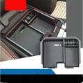Organizador caja de almacenamiento Central de los apoyabrazos del coche juego para Land Rover Evoque 2012-2016 contenedor bandeja de accesorios, car styling