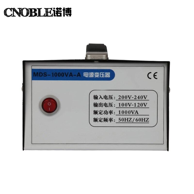 1000 Вт 1KVA 1KW понижающий преобразователь напряжения трансформатор 220В-240В до 110В-120В
