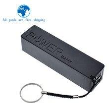 TZT-funda de Banco de energía con USB, cargador de batería 18650, caja DIY, negro, para Arduino