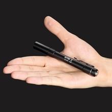 Nitecore MT06 CREE XQ-E R2 Led Flashlight 2xAAA Highly EDC Penlight Medical Waterproof Ultra-Long Range Portable Easy Use