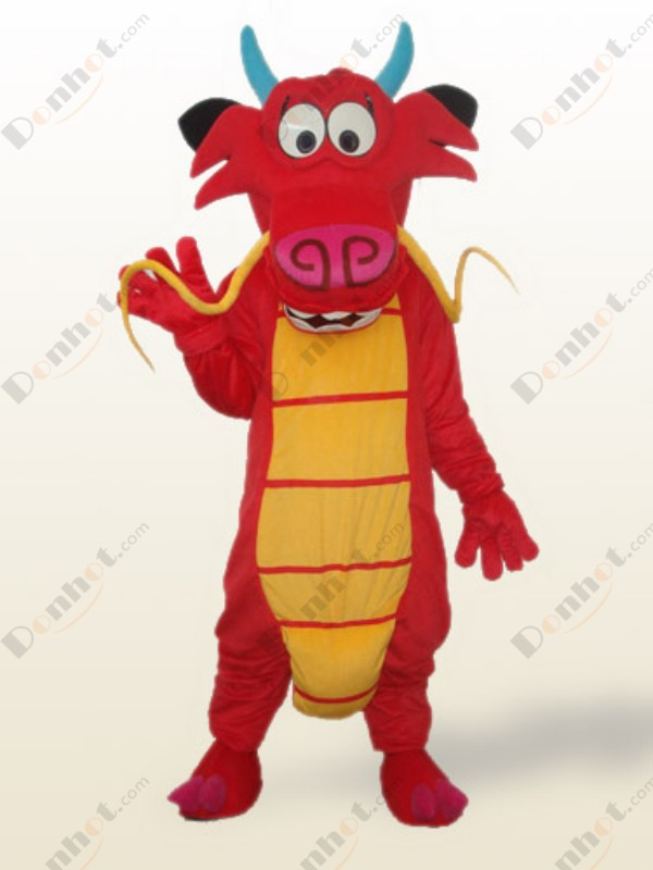Costume character mascot costumes dragon Mushu dragon mascot costume role-playing