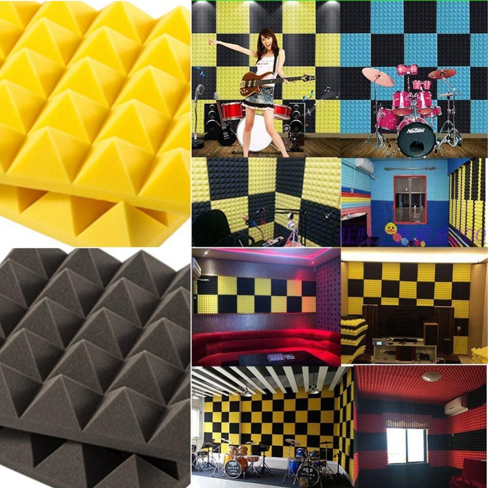 1pc 30x30cm Thick 5cm Acoustic Panels Soundproofing Studio Foam ...