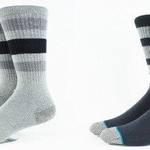 Men s Classic Tri Bars Skate Socks USA Size M 6 8 5 L 9 12
