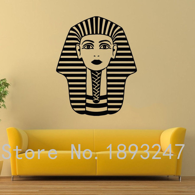 free shipping egypt vinyl wall decal countries tutankhamun ancient