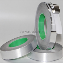 0.06mm Thick, 65mm*50M Double Conductive, Single Sticky, Aluminum Foil Electrostatic shielding Tape fit for Monitor, Monitor