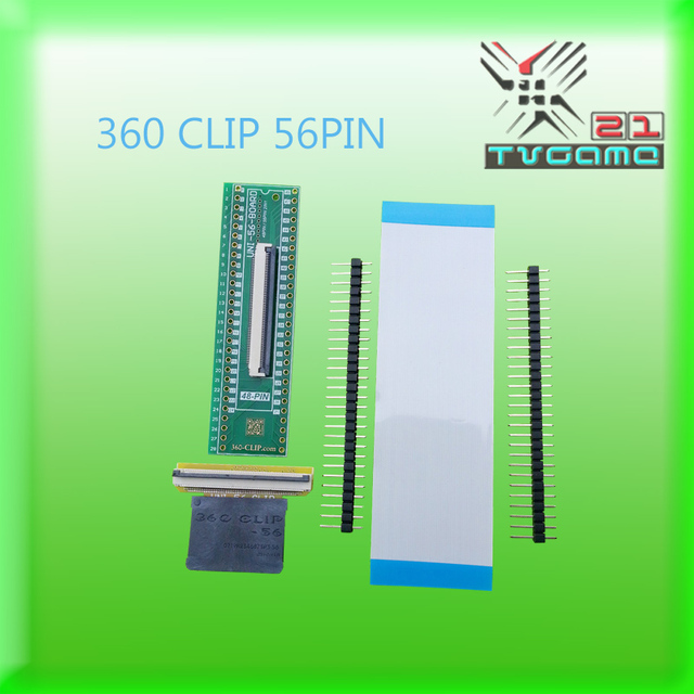 US $36 99 |Hot selling 56pin universal 360 clip tsop nand flasher for ps3  Progskeet for xbox 360 original-in Replacement Parts & Accessories from