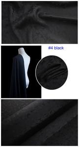Image 5 - כבד משי חומר לוטוס אקארד משי בד עבור שמלות חולצות משי ויסקוזה