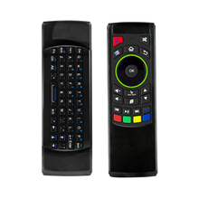 2 4G Fly Air font b Mouse b font Wireless Keyboard with IR Remote Control Combos