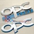 20 unids OPC Línea Azul Cromo ABS Insignias Boot Emblemas Emblema Car Styling Envío Gratis