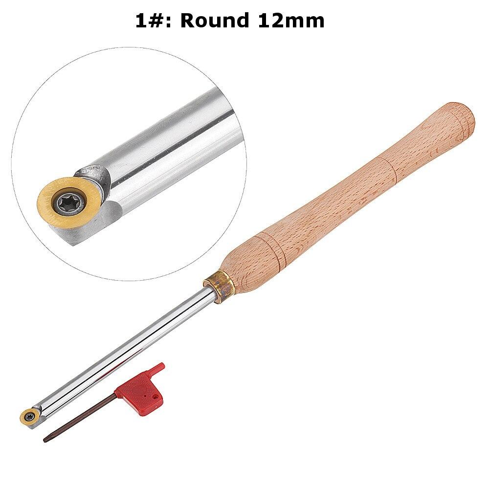 Madeira ferramenta de torneamento punho madeira com