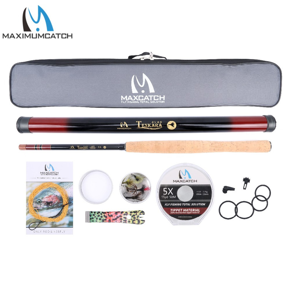 Maximumcatch Tenkara Fly Rod Kit 11ft/12ft/13ft Fly Rod Combo Fishing Pole&Lines&Tippet&Flies&Line nipper&Hook Keepers pu leather coin purse women small wallet change purses money bags children s pocket wallets key holder mini zipper pouch