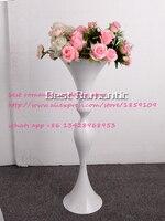 焼き白い花花瓶/花ヨーロピアンスタイルの結婚式の装飾家具の記事/ウェディングセンターピース/フラワースタンド