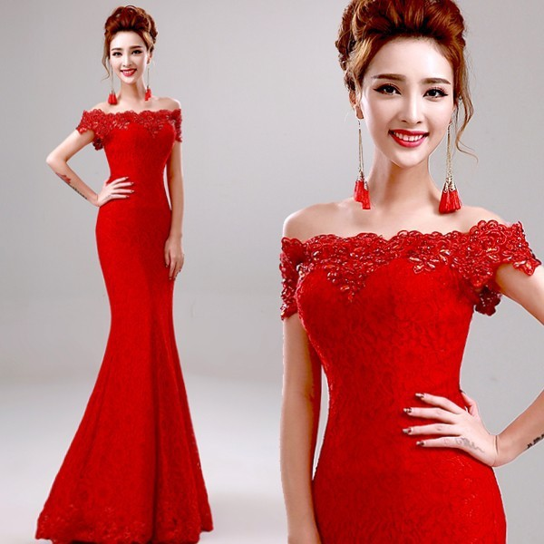 Online Get Cheap Red Mermaid Dress -Aliexpress.com | Alibaba Group