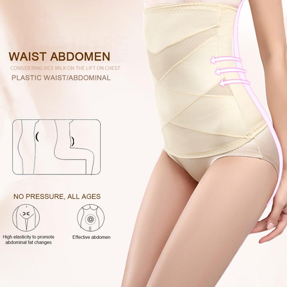 Women Slimming Bandages Women's Panties Waist Trainer Body Shaper Slimming Belt Underwear Bodysuit Control Pants Slimming