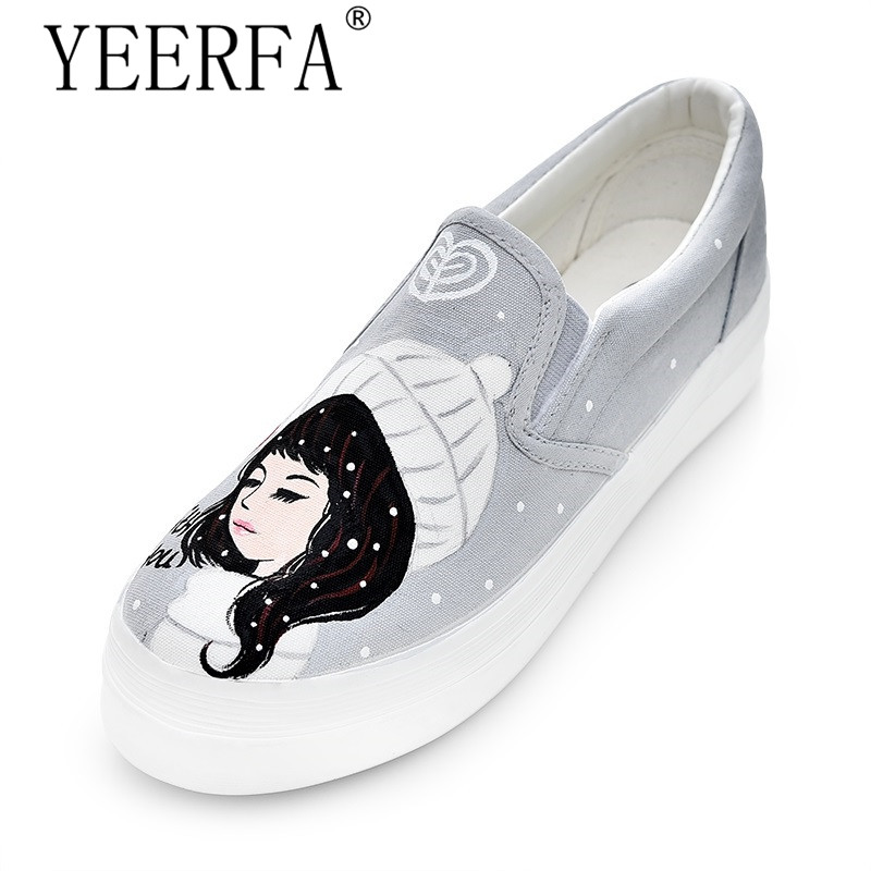 YEERFA Hot Sales Summer Low Help Canvas Shoes Women New Lazy Dancingly Shoes Pedal Foot Wrapping Female Casual Board Shoes 2015 summer shallow mouth of canvas shoes women shoes a pedal lazy shoes casual flat white shoes korean wave shoes