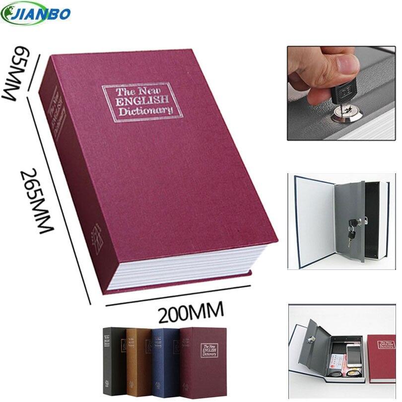 Новый Дизайн хранения Сейф словарь секрет книга копилку деньги Скрытая секрет безопасности для подвешивания денежных Jewellery с замком