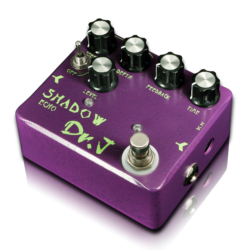 Dr. J Shadow Echo Hand Made Analog Delay Echo Electric Guitar Effect Pedal efeito True Bypass D-54 D54 dr j d53 sparrow driver di effect guitar electric bass overdrive pedal efeito true bypass free shipping