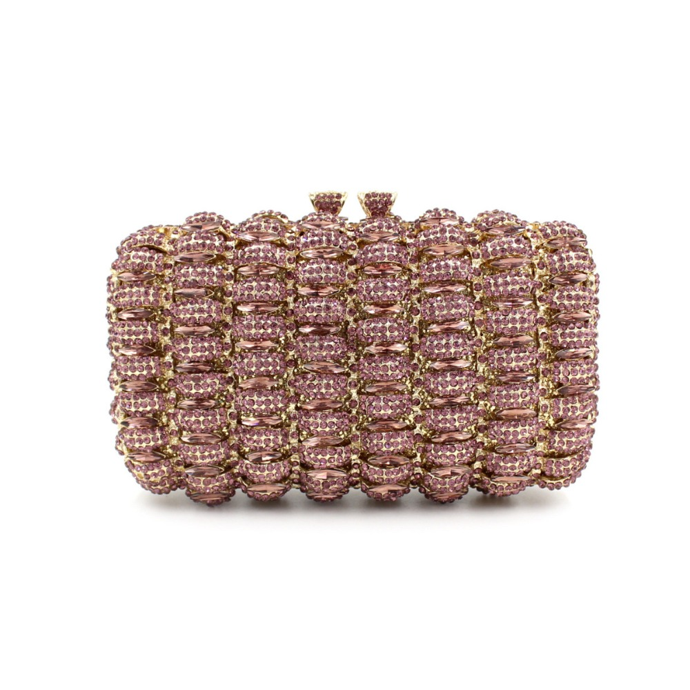 Pink Crystal Clutches Bags with Gold Chain Luxury Designer Pink Evening Clutch Bag for Women Red Clutch Purse Party Occasions кеды napapijri baker р 43 голубой