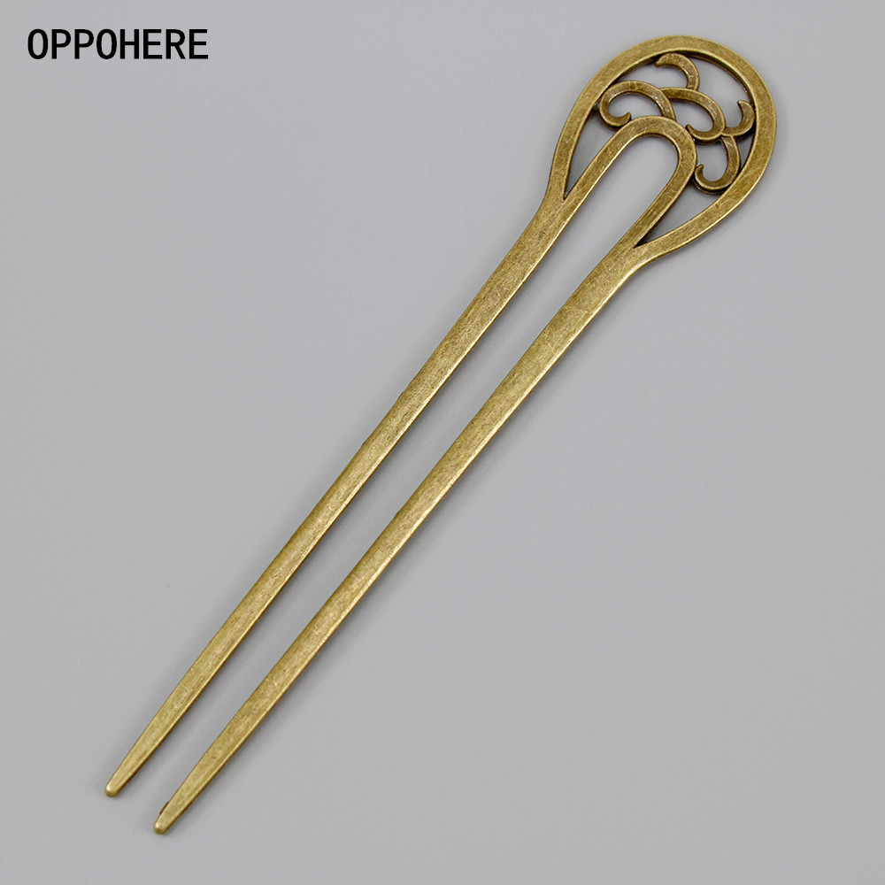 New Bronze Vintage Hair Sticks 17 Styles Headbands For Women Elegance Lady Hairpins Fashion Alloy Hair Clip Hair Accessories new bohemia hairgrip retro hair clasp alloy elegant oval hair pins hair sticks combs for women hair accessories