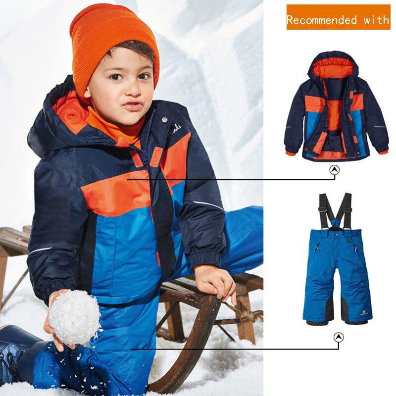 Veste de Ski imperméable manteaux d'hiver pour enfants en plein air snowboard vestes de Ski pour filles garçons sports de plein air vêtements parka