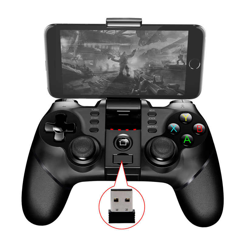 2017 nowy PG 9076 Batman Gaming Bluetooth 2.4G bezprzewodowy gamepad Joystick na PS3 telefon z systemem android Tablet PC Laptop