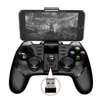 2017 New PG 9076 Batman Gaming Bluetooth 2 4G Wireless Controller Gamepad Gamecube Joystick Android Phone