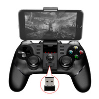 2017 New PG 9076 Batman Gaming Bluetooth 2 4G Wireless Controller Gamepad Gamecube Joystick Android Phone
