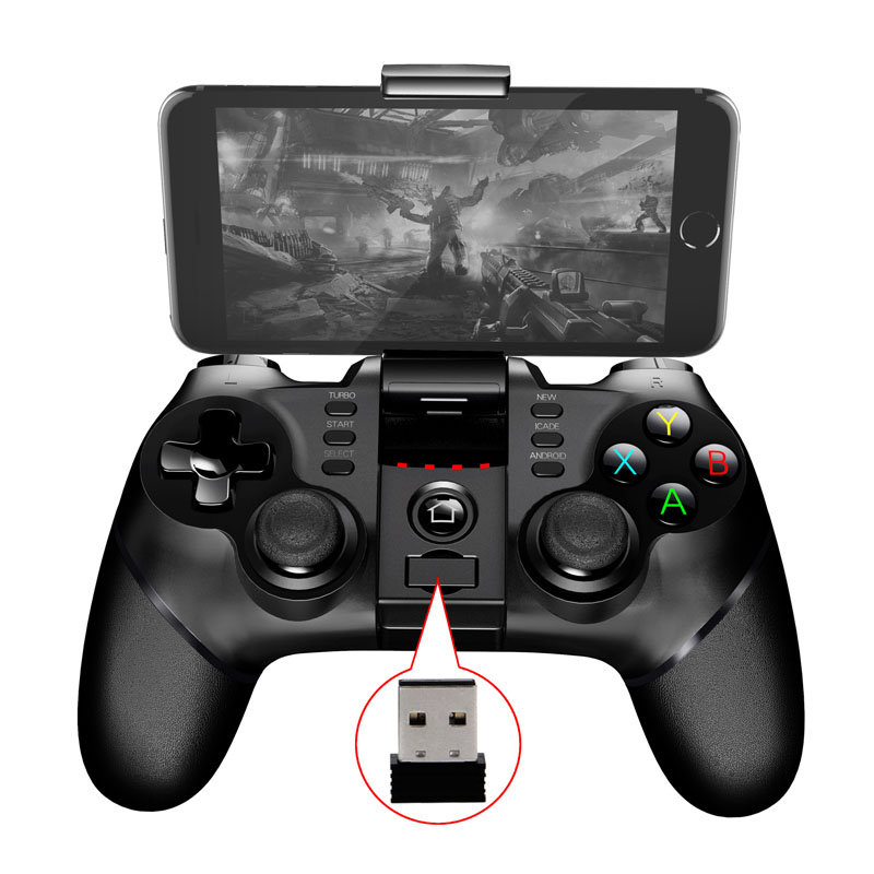 2017 Nuovo PG 9076 Batman Gaming Bluetooth 2.4G Wireless Controller Gamepad Joystick Per PS3 Android Phone Tablet PC Laptop
