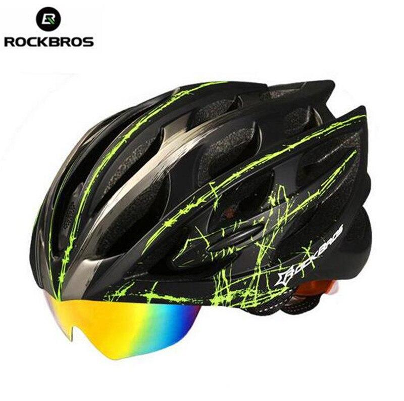 Rockbros font b Bicycle b font font b Helmet b font Mountain Road Night Riding Safe