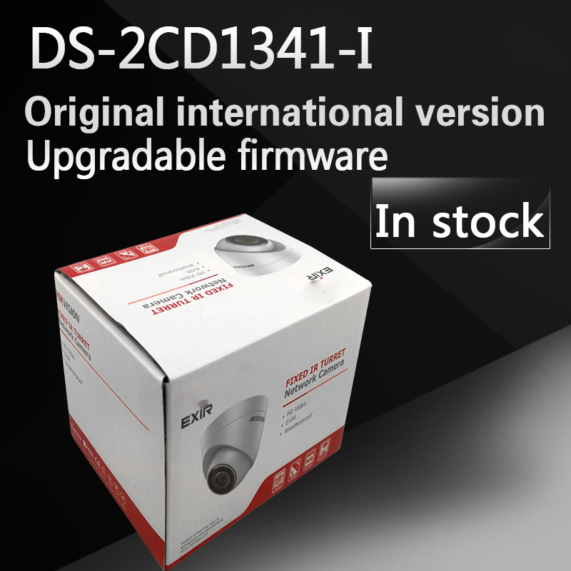 In stock DHL free shipping English version DS-2CD1341-I replace DS-2CD2345-I 4MP CCTV camera POE ip camera newest hik ds 2cd3345 i 1080p full hd 4mp multi language cctv camera poe ipc onvif ip camera replace ds 2cd2432wd i ds 2cd2345 i