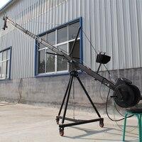Стрелы крана 6 м 2 оси Octagon поворотник Глава Портативный камеры Кран DSLR с игрушкой и монитор фабрика питания