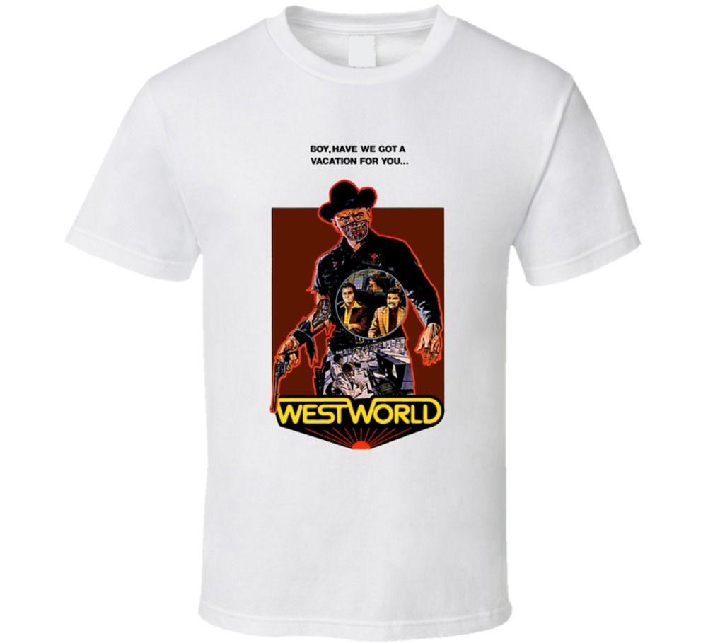 Westworld Cult Movie T Shirt
