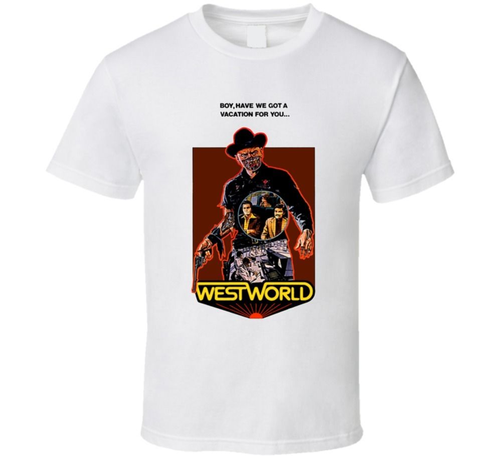 Westworld Cult Movie T Shirt